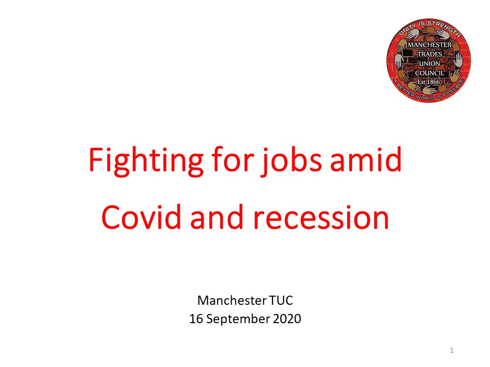 Fighting for jobs amid Covid and recession