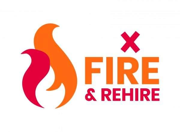 No fire & rehire